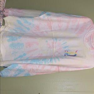 Disneyland Spirit Jersey Cotton Candy Tie Dye